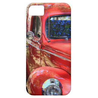 Coche rojo clásico funda para iPhone SE/5/5s