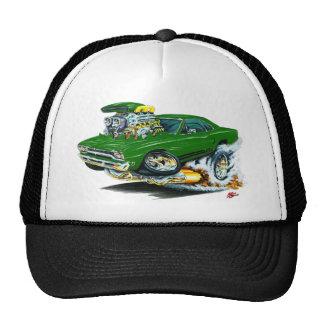 Coche verde 1968-69 de Plymouth GTX Gorro
