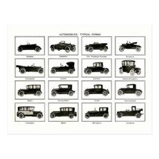 Coche viejo y clásico (auto retro): Coches del Postal