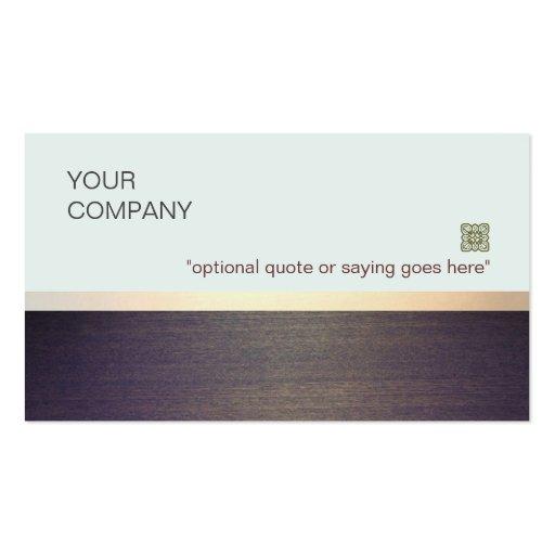 Coche y consultor minimalistas simples del profeso tarjeta de visita