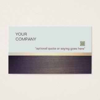 Coche y consultor minimalistas simples del tarjeta de negocios