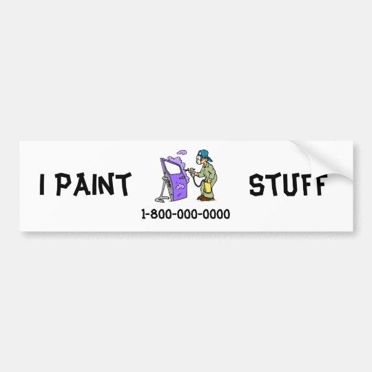 Coches de la pintura pegatina para coche