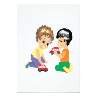 Coches del juguete comunicado personal