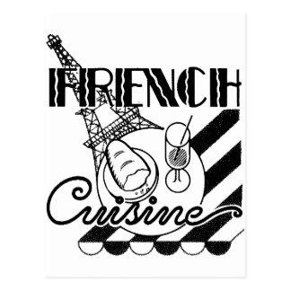 Cocina francesa postal