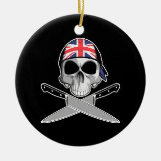 Cocinero británico ornamentos para reyes magos