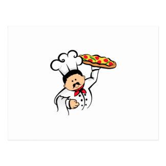 COCINERO DE LA PIZZA POSTAL