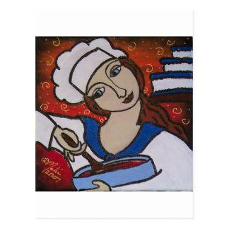 Cocinero de Patry Tarjeta Postal