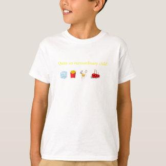 cocinero de Sous de la ropa del carácter del libro Camiseta