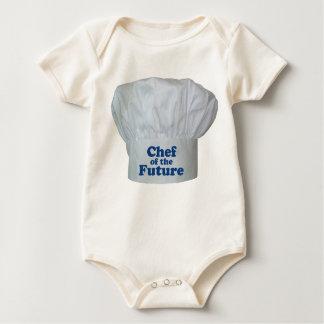 Cocinero del bebé futuro trajes de bebé
