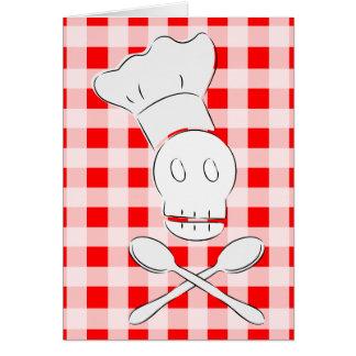 Cocinero del pirata tarjetas