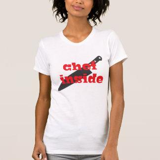 Cocinero dentro camisetas