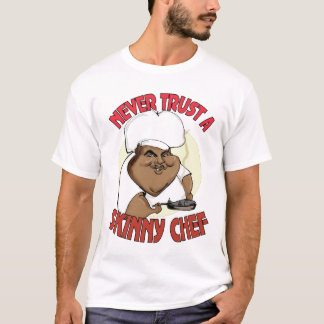 cocinero flaco camiseta