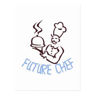 Cocinero futuro postal