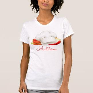 Cocinero gastrónomo personalizado de la cocina del camiseta