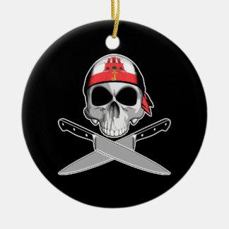 Cocinero gibraltareño ornamentos de navidad