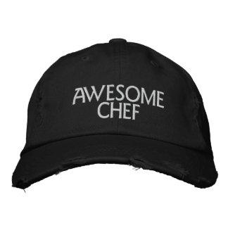 Cocinero impresionante gorras de beisbol bordadas