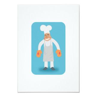 Cocinero Invitación