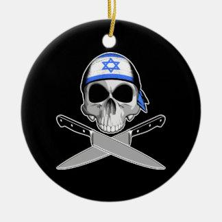 Cocinero israelí adornos de navidad