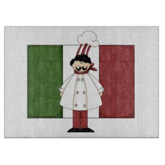 Cocinero italiano #1 tabla para cortar