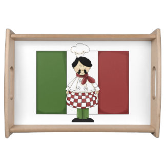 Cocinero italiano #2 bandeja