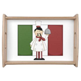 Cocinero italiano #4 bandejas