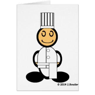 Cocinero (llano) felicitacion