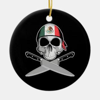 Cocinero mexicano ornatos