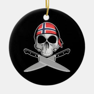 Cocinero noruego ornamento de reyes magos