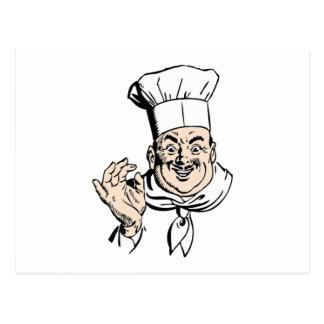 Cocinero Postal