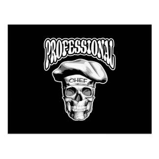Cocinero profesional v6 postal