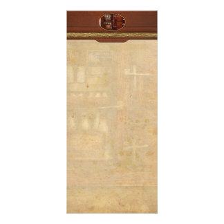 Cocinero - refrigerador - el pecho de hielo folleto publicitario 10 x 22,8 cm