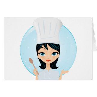 Cocinero Tarjetas