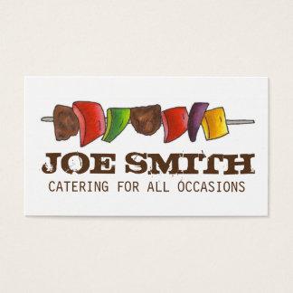 Cocinero vegetal del abastecimiento de la comida tarjeta de negocios