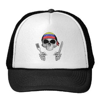 Cocinero venezolano 4 gorras de camionero