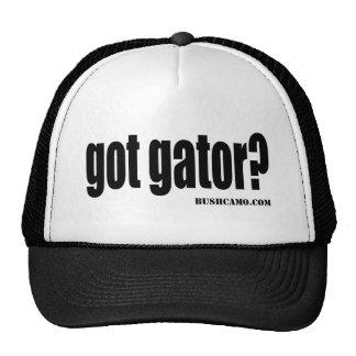 cocodrilo conseguido gorra