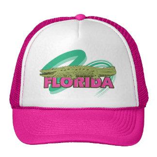 Cocodrilo de la Florida Gorras