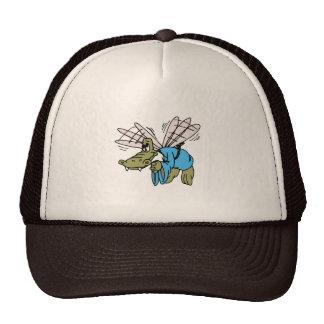Cocodrilo del vuelo gorras