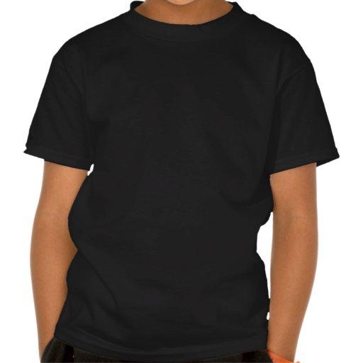 Cocodrilo-Enemigo-est-granate Camisetas