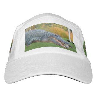 Cocodrilo, mentira peligrosa en campo de golf gorra de alto rendimiento