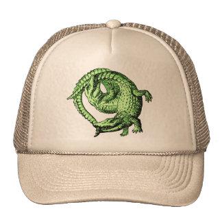 Cocodrilos verdes gorra