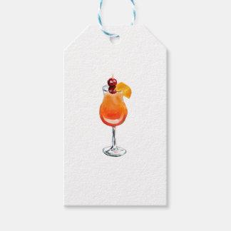 Cóctel de la salida del sol del Tequila de la Etiquetas Para Regalos
