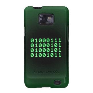 Código binario para el FRIKI Galaxy S2 Carcasas