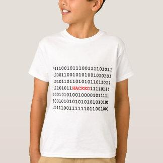 Código cortado camiseta