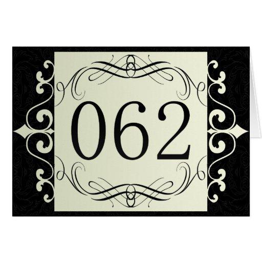Código de área 062 tarjeta de felicitación