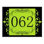 Código de área 062 tarjeta postal