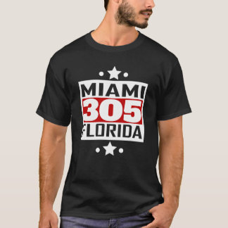 Código de área de 305 Miami FL Camiseta