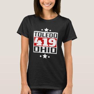 Código de área de 419 Toledo OH Camiseta