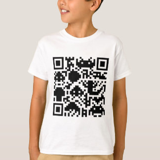 Código de barras cuadrado camiseta
