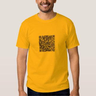 Código de barras del rollo de Rick Camiseta