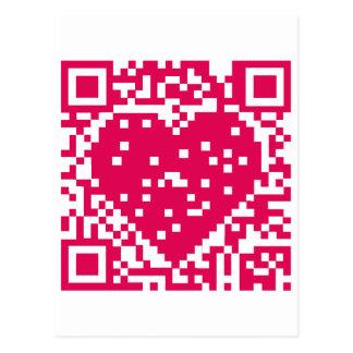 Código de QR - amor Postal